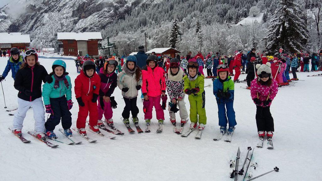 classe decouverte ski