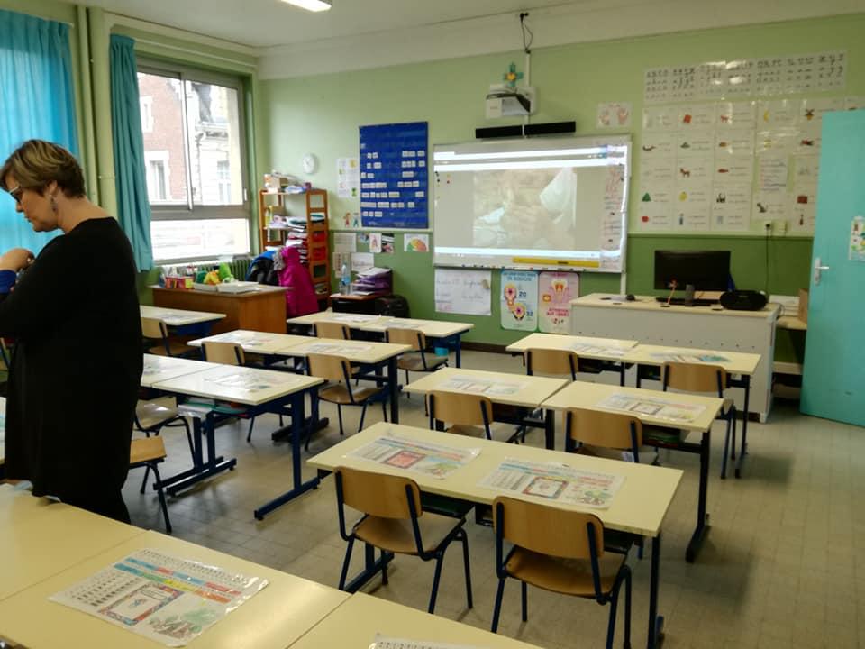 salle classe élémentaire