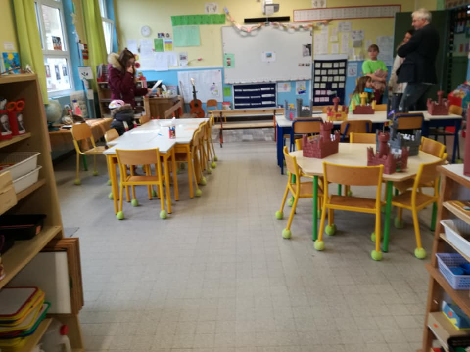 salle classe maternelle MS