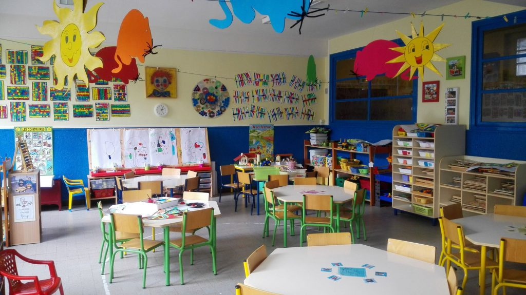 salle classe maternelle TPS PS
