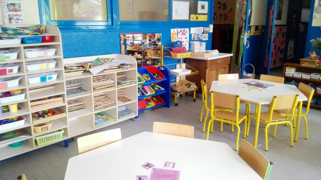 salle classe maternelle PS TPS